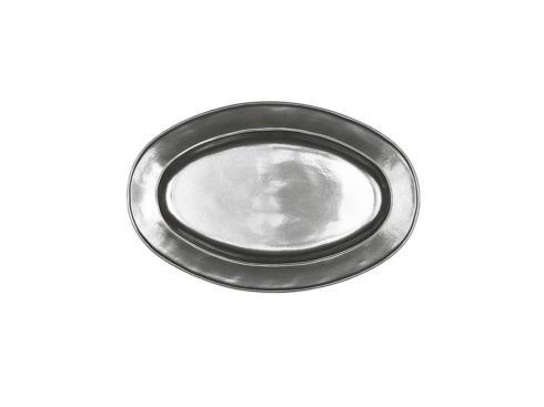 "Juliska  Pewter Stoneware 15"" Oval Platter $98.00"