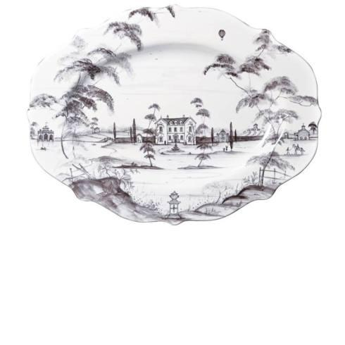Juliska Country Estate Flint (Brown) Serving Platter Main House $195.00