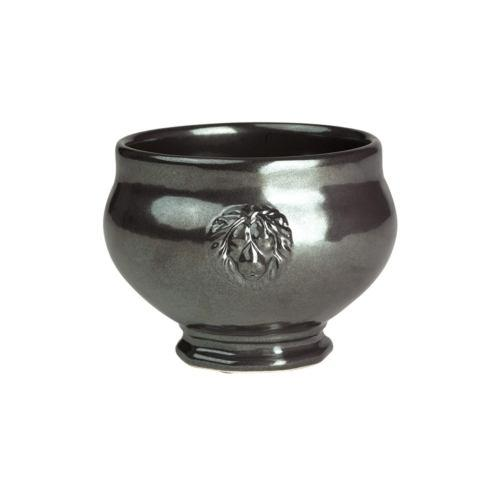 Juliska  Pewter Stoneware Footed Soup Bowl $34.00