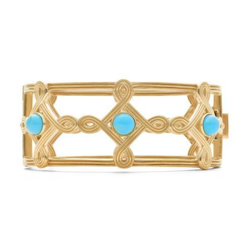 $475.00 Compass Hinged Bangle, Turquoise