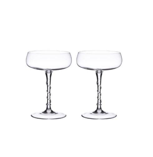 $135.00 Champagne Coupe Set/2