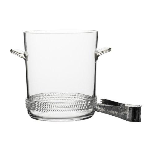 Juliska  Dean Ice Bucket with Tongs $175.00