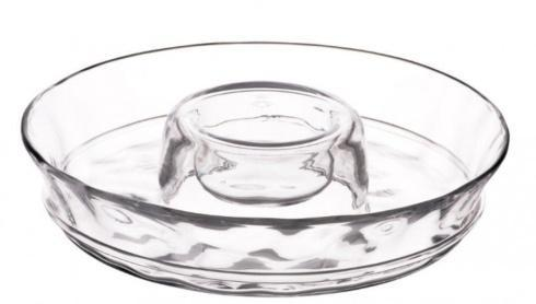 Juliska Everyday Glassware (Hand Pressed) Carine Chip 'n Dip $125.00