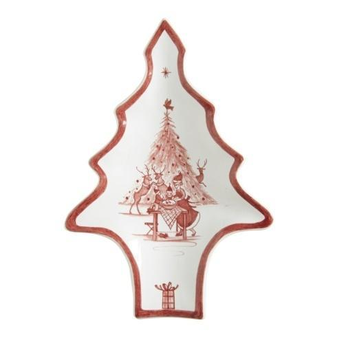 Juliska Country Estate Ruby Tree Tray Merry Making $35.00