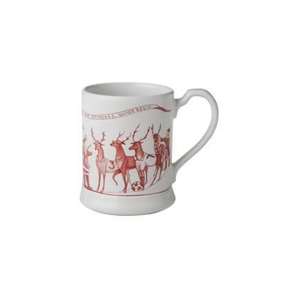 Juliska Country Estate Reindeer Games Ruby Mug $44.00