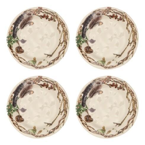 Juliska  Forest Walk Party Plates Set/4 $108.00