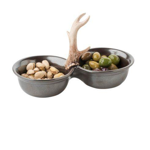 Juliska  Forest Pewter 2 Bowl Server $88.00