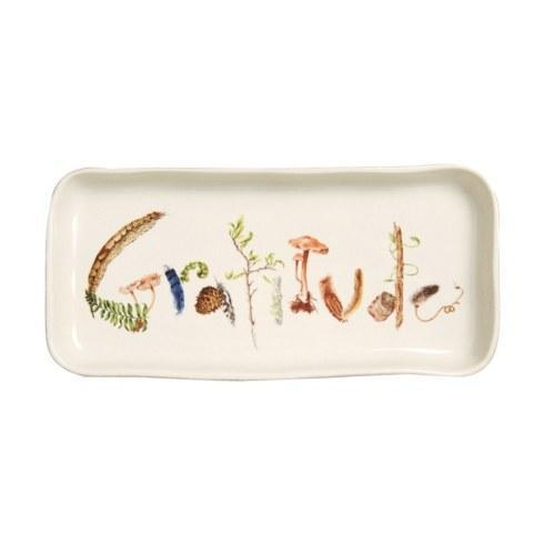Juliska  Forest Walk Gratitude Gift Tray $48.00