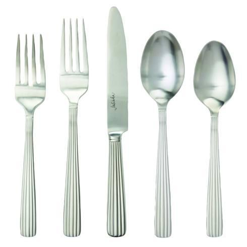 $68.00 Bright Satin 5pc Place Setting