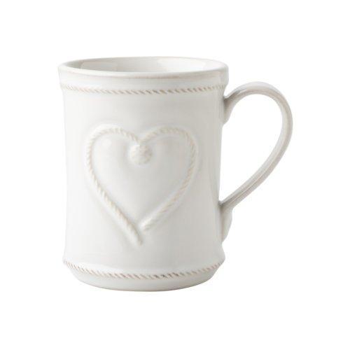 Juliska Berry & Thread Whitewash Cupfull of Love Mug $44.00