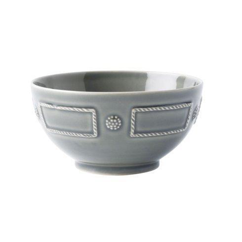 Juliska French Panel Stone Grey Cereal/Ice Cream Bowl $34.00
