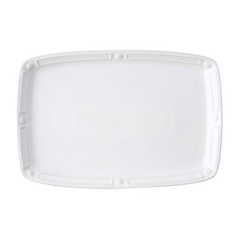 "Juliska French Panel Whitewash 16.5"" Platter $98.00"