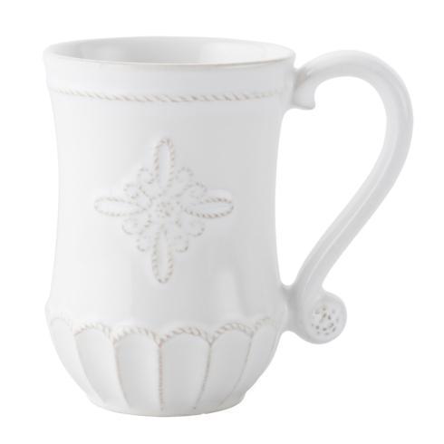 Juliska Jardins du Monde Whitewash Mug $34.00