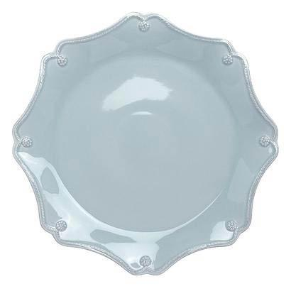 Juliska Berry & Thread Ice Blue Scallop Charger Plate $72.00