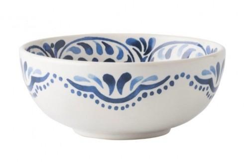 Juliska Iberian Journey Indigo Cereal/Ice Cream Bowl $30.00