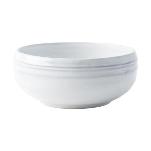 $26.00 White Truffle Cereal/Ice Cream Bowl