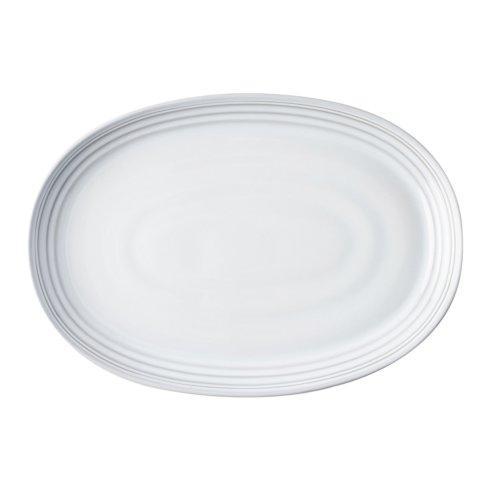 "Juliska  Bilbao White Truffle 17"" Platter $95.00"