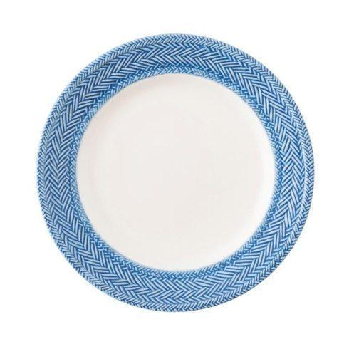 Juliska Le Panier White/Delft Dessert/Salad Plate $40.00