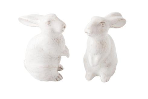 Juliska  Spring Bunny Whitewash Salt & Pepper Set $68.00