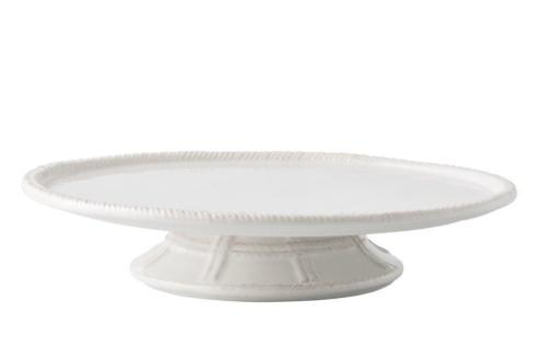 "Juliska Le Panier Whitewash 12.5"" Cake Pedestal $125.00"