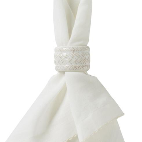 Juliska Le Panier Whitewash Napkin Ring $15.00