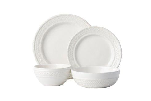 Juliska Le Panier Whitewash 4pc Setting (KH01/10, KH02/10, KH07/10, KH81/10) $158.00