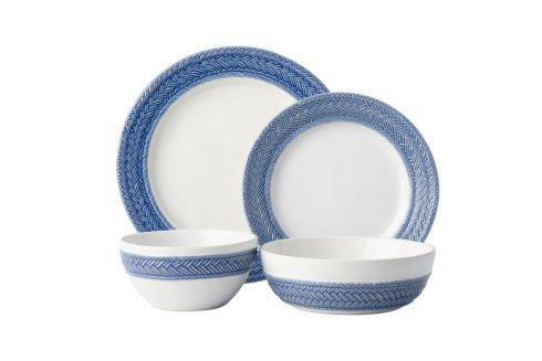 Juliska Le Panier Delft Blue 4pc Setting (KH01/44, KH02/44, KH07/44, KH81/44) $158.00