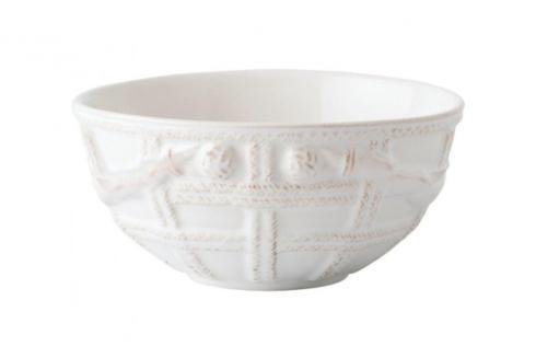 Juliska Le Panier Whitewash Basket Cereal/Ice Cream Bowl $34.00