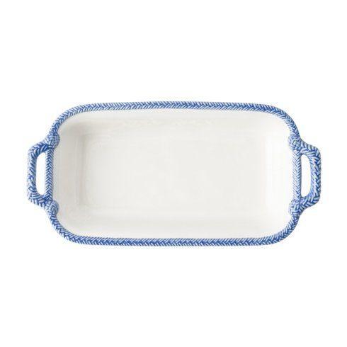 Juliska Le Panier White/Delft Shallow Baker $78.00