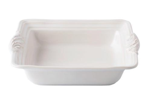 "Juliska  Acanthus Whitewash 11"" Square Baker $65.00"