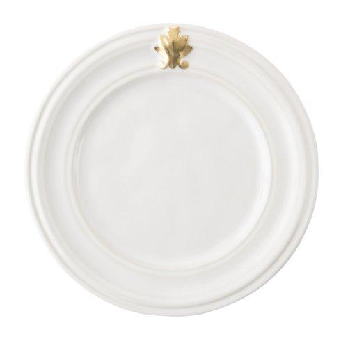 Juliska  Acanthus Gold Side/Cocktail Plate $26.00