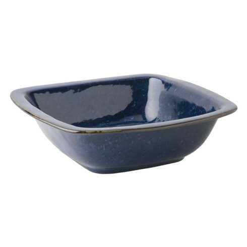 "Juliska Puro Dappled Cobalt 12.5"" Rounded Square Serving Bowl $76.00"