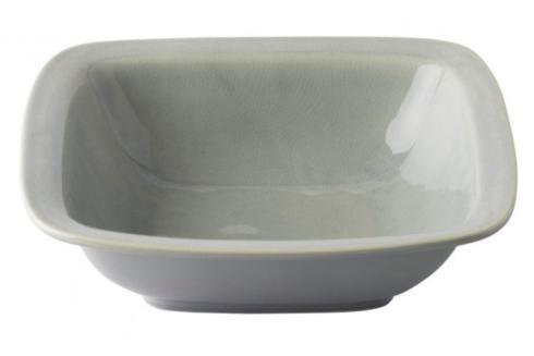 "Juliska Puro Mist Grey Crackle 12.5"" Rounded Square Serving Bowl $76.00"