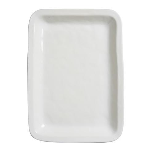 "Juliska Puro Whitewash 18.75"" Rectangular Tray/Platter $115.00"