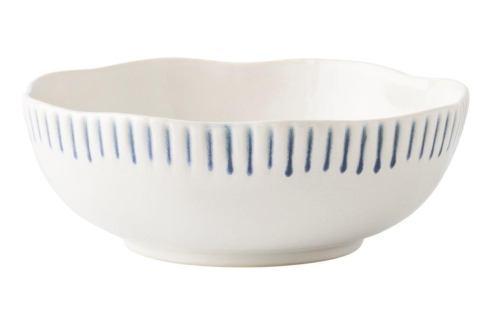 Juliska  Sitio Stripe Indigo Coupe Bowl $32.00