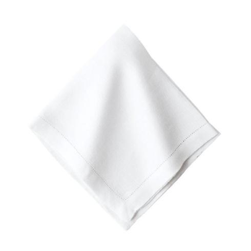 Juliska  Napkins Heirloom Linen White Napkin $12.00