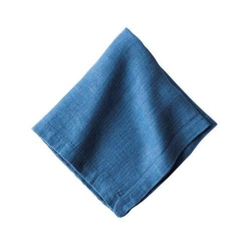 Juliska  Napkins Heirloom Linen Delft Blue Napkin $12.00