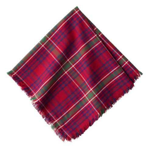 Juliska  Holiday Candles & Table Accessories Christmas Tartan Red Napkin $15.00