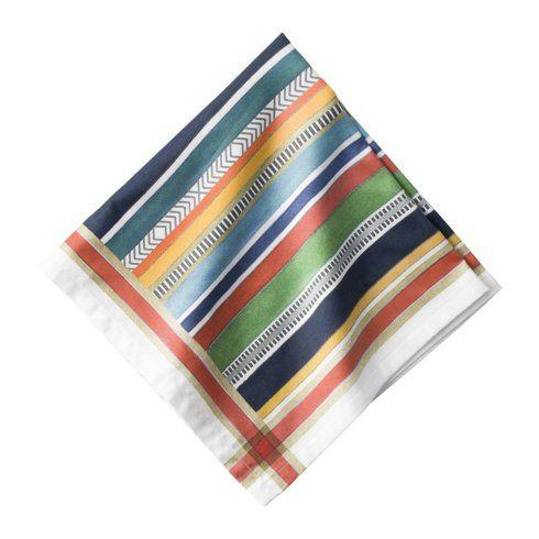Juliska  Napkins Basque Stripe Multi Napkin $15.00