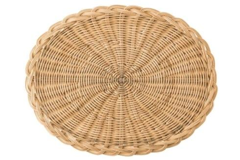 $44.00 Braided Basket Oval Natural Placemat