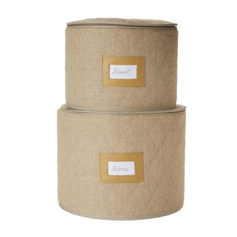 Juliska  Storage Containers Burlap Storage Container Set/2 $98.00