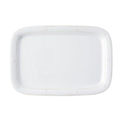 "Juliska Melamine Melamine Whitewash 16"" Serving Tray/Platter $49.00"
