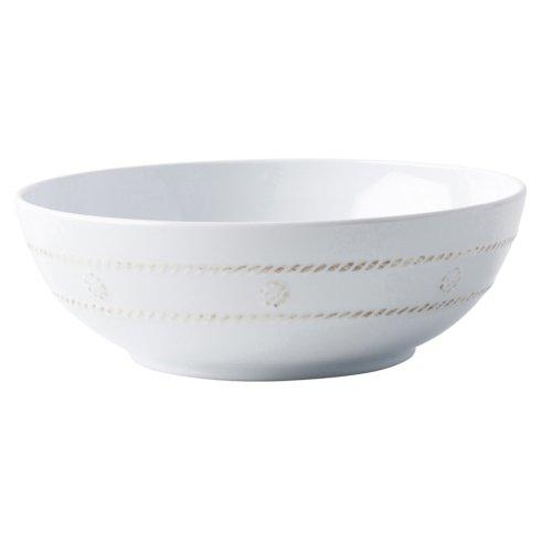 Juliska  Melamine Berry & Thread Melamine Whitewash Coupe Bowl $24.00