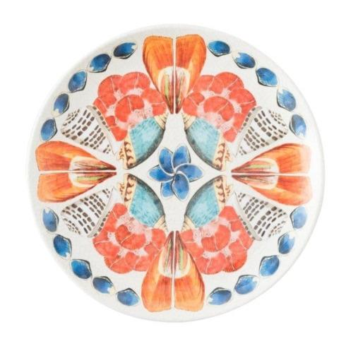 Oceanica Melamine Multi White Dessert/Salad Plate <br>(2 in stock)