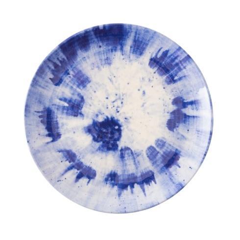 Juliska  Melamine Splatter & Spin Melamine Indigo Dinner Plate $20.00