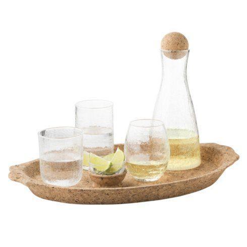 Juliska Quinta Cork Natural Handled Tray $215.00
