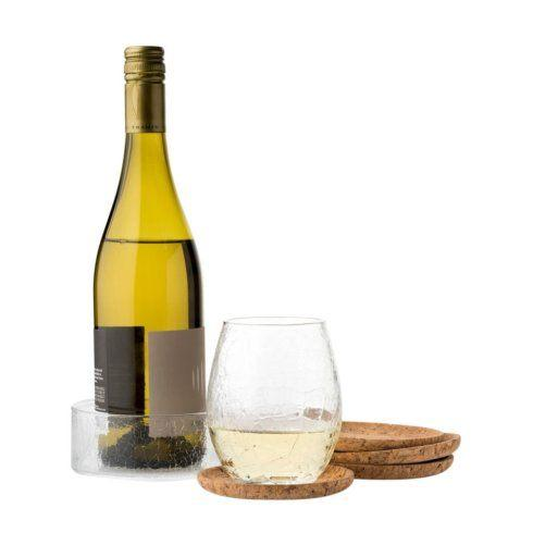 Juliska Quinta Hugo Natural Bottle & Beverage Coasters Set/4 $78.00