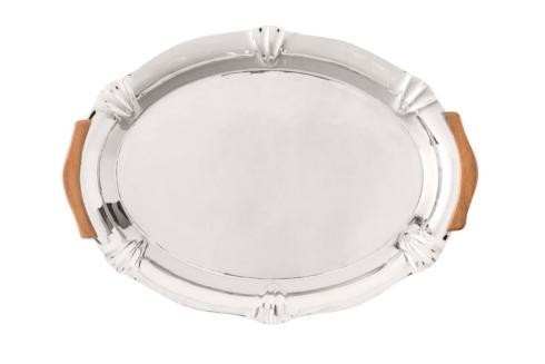 "$150.00 14"" Round Handled Tray"