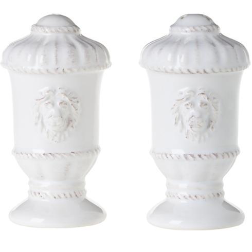 Juliska  Jardins du Monde Urn Salt and Pepper Shakers Set Whitewash $68.00