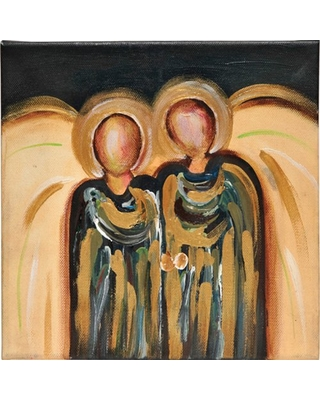 FACELESS ANGELS CANVAS